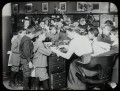 Work with schools, Yorkville Branch - class visit, ca. 1910.
